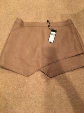 "Bcbg Maxazria Faux Leather ""Owen"" Skirt Sz L Nwt Retail $198!"