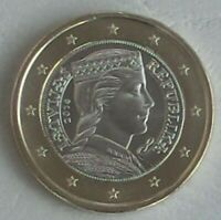 1 Euro Kursmünze Lettland 2014 unz