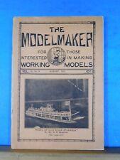 Modelmaker Magazine 1932 August Model signal systems Super power locomotive