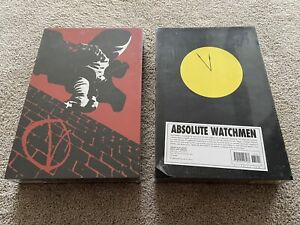 Absolute Watchmen & V for Vendetta (sealed) Hardcover