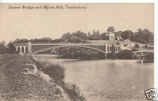 Gloucestershire Postcard - Severn Bridge & Mythe Hill, Tewkesbury A5102