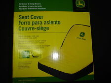 JOHN DEERE LARGE SEAT COVER FOR SEATS WITH 18in BACK REST LAWN TRACTORS LP92334