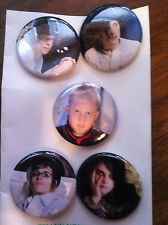 My Chemical Romance Black Parade band members buttons/pins Gerard Way