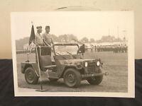 USMC MAJGEN David B.Barker BW Photograph Commander USMC Base Camp Lejeune NC USA