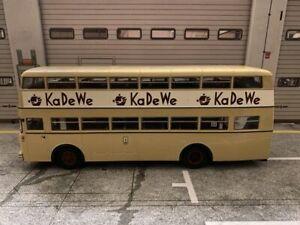 Büssing D2U KaDeWe BVG Bus Berlin Vorserienmodell Muster Modell Minichamps 1:43