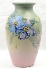 Weller Pottery Vase, 1920-30 Clematis Hudson Vase Hester Pillsbury