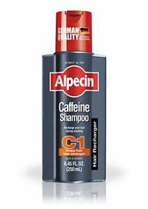 ALPECIN CAFFEINE SHAMPOO 250ML C1 HELPS HAIR FEEL STRONGER HAIR LOSS TREATMENT