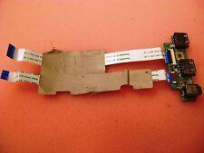 Genuine Original Dell Studio 1535 Laptop USB Firewire Board w/ Cables F965C