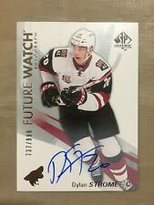 2016-17 UD SP Authentic Dylan Strome Future Watch FW RC Rookie Auto /999 Chicago