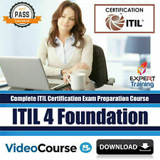 ITIL 4 Foundation Exam Preparation Video Course + Free Content - 2020