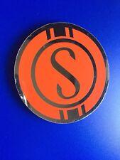 Schwinn S Orange Krate Sticker Vintage 90's NOS