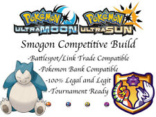 Pokemon Sun and Moon Smogon Build 6IV Snorlax Belly Drum Lax HHorsepower Recycle