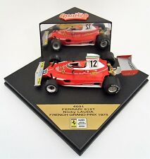 Nicky Lauda Ferrari 312T French Grand Prix 1975 Quartzo 1:43 Diecast Formula 1