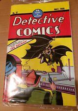 Detective Comics 27 Loot Crate Reprint In Sealed Polybag 1st Batman Facsimile