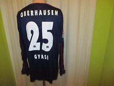 Rot Weiß Oberhausen uhlsport Langarm Matchworn Trikot 2010/11 + Nr.25 Gyasi Gr.L