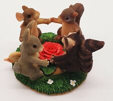 """New listing Charming Tails """"Ring Around The Rosie"""" Dean Griff Fitz & Floyd Mib"""