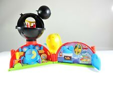 Mickey Mouse Clubhouse play set Disney Store Famosa Talking with Boot house ears