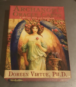 Archangel Oracle Cards- Cards And Book Like New Doreen Virtue