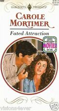 HARLEQUIN* FATED ATTRACTION * by CAROLE MORTIMER PAPERBACK  0373116896