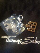 Charm Anhänger Thomas Sabo Elefant  Silber , Gold  neu