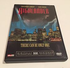 Highlander DVD. Anchor Bay.  Sean Connery.  OUT OF PRINT