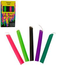 Blacklight Reactive Drip Stick Candle - 5pk