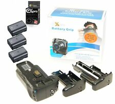 Ex-Pro Battery Power Grip D-BG5/BG-5 KIT for Pentax K3 K-3 inc 3 x D-Li90