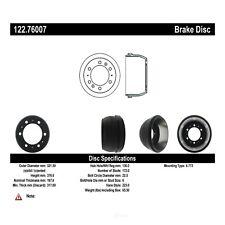 Brake Drum-Premium Drum - Preferred Rear Centric 122.76007