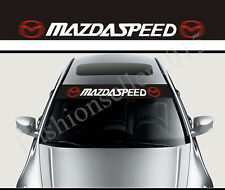 MAZDASPEED Front Windshield Decal Vinyl Car Sticker for MAZDA Auto Window Access