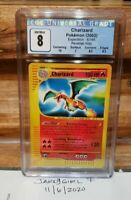 2002 Charizard 6/165 Expedition Reverse Holo Pokemon Card CGC 8 Mint PSA