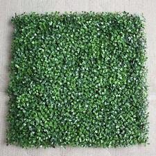 Garden Vertical Wall Hanging Artificial Plants Interlocking per Tile Hedge Green