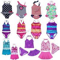 Toddler Kids Girls Swimsuit Swimwear Bathing Swimming Suit Tankinis Bikini Sets