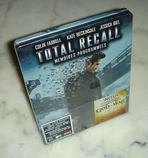 Total Recall *Blu - Ray Steelbook* / France / Brand New / Factory Sealed!!!