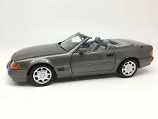 Mercedes Benz 500 SL de 1989 Anthracite metallic R129 1/18 de NOREV 183715
