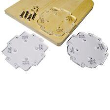 Corner Templates Kit 3 pcs Wood Panel Radius Quick-Jig Router Table Bits Jig