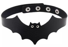 Gothic Goth Bat Collar Choker Necklace UK SELLER