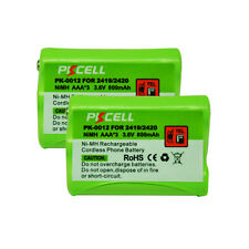 2xReplacement Cordless Phone Battery NiMH AAA 800mAh 3.6V for ATT AT&T 2419 2420