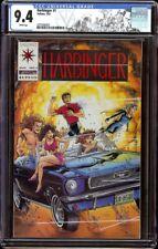 Harbinger # 1 CGC 9.4 White (Valiant, 1992) 1st appearance Harbinger team