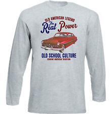 AUTO D'EPOCA AMERICANA MERCURY COUPE 1949-Nuova T-shirt di cotone