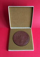 Böttger Medaille mit Etui LPG (T) OTTO BUCHWITZ HASSLAU 1989 ( M40