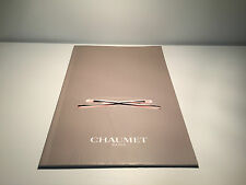 Catalogue Catálogo CHAUMET Liens Model - English - Watches - For Collector