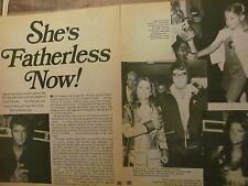 Elvis Presley, Lisa Marie, Two Page Vintage Clipping