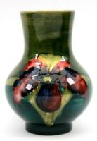 Vintage Walter Moorcroft Orchid Vase Circa 1953