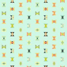 Arrow Heads 'Sunkissed' by Tula Pink 112cm (w) x 25cm