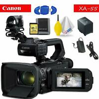 Canon XA55 Professional Camera - Black