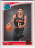 2018-19 Panini Donruss Atlanta Hawks Trae Young Rated Rookie RC #198