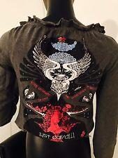 Just Cavalli Roberto Punk shirt W Pins top Blouse  XS
