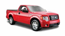 MAISTO 1:27 Scale FORD F-150 STX NEW DIECAST MODEL PICKUP TRUCK RED