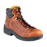 Timberland 50506 PRO Mens TiTAN Lace Steel Toe Brown Work Boots SZ 8 US