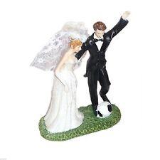 CALCIO PAZZA marito WEDDING coppia cake topper ** Spedizione gratuita **